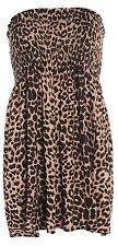 Womens Ladies Plus Size Sheering Boobtube Bandeau Straples Top Vest Dress 8 22