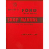1948,1949,1950,1951,1952 Ford Truck, Pickup / F-1 Truck Shop Manual