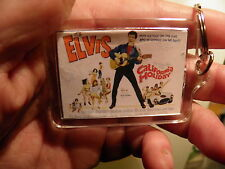 ELVIS PRESLEY   CALIFORNIA HOLIDAY    FILM POSTER  LARGE   KEY RING