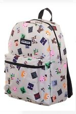 Minecraft  All Over Print Backpack School Book bag New with tag
