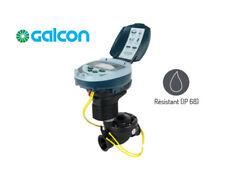 """PROGRAMADOR DE RIEGO A PILAS GALCON DC1 CON ELECTROVALVULA 1"""" PROTECCION IP68"""