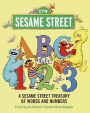 Sesame Street: ABC and 1,2,3 : A Sesame Street Treasury of Words and Numbers...