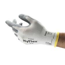 grau//weiß 12er PACK 9 Handschuh Hyflex Paar Ansell 11-600 Gr