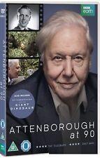 ATTENBOROUGH, David at 90 (2016) + THE GIANT DINOSAUR - BBC TV Film - NEW DVD UK