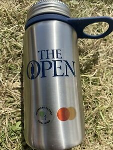 149th Open Golf Championship Water Bottle Flask Royal St George's 2021