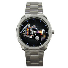 NEW PETERBILT TRUCK OF CANADA STAINLESS SPORT WATCH