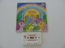 Vintage 1986 My Little Pony Dance Recital Book with cassette tape