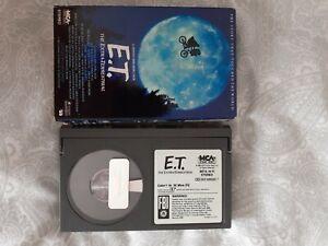 ET ntsc Betamax Ex Rental tape