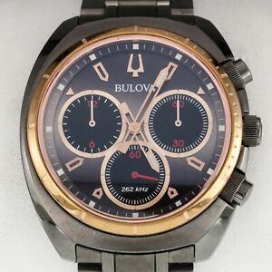 Bulova Men's Titanium High Frequency Chronograph Quartz Watch 98A158