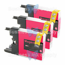 3 MAGENTA LC71 LC75 Compatible Ink Cartirdge for BROTHER Printer MFC-J435W LC75M