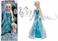 Disney Store Exclusive Singing Queen Elsa Doll Light Up 16 in Frozen NEW 2013