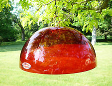 Hummer Helmet Hummingbird Feeder Protective Red Dome