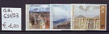 Gran Bretagna/Great Britain 1971 Serie Quadri di pittori nord Irlandesi MNH