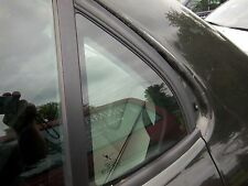 Saab 9-3 left rear door glass 03-07 saab 9-3 sedan door glass