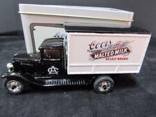 ERTL 1930 CHEVROLET DELIVERY TRUCK COORS MALTED MILK W/TIN 1/43 DIECAST ma14