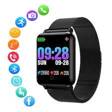 Smartwatch Sport Uhr Pulsuhr Blutdruck Fitness Armband Tracker Schrittzähler