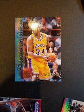 1996-97 TOPPS STADIUM CLUB Basketball cards  Shaquille O'Neal #WA19