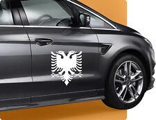 15cm Albanischer Adler Aufkleber Sticker Kleber Autosticker Symbol Wappen Racing