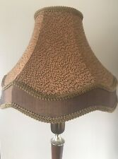 Pair of Vintage Lamp Shades Bronze Gold