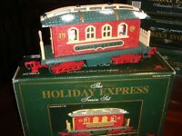 New Bright Holiday Express PASSENGER CAR train 384 385 386 387 380 w/ BOX