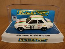 SCALEXTRIC C3924 Ford Escort Mk.I Brands Hatch 1971 John Fitzpatrick No.114 New