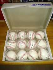 Champro Sports Official Little League Leather Baseballs dozen (12)