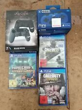 Playstation 4 - Zubehör + Spiele (Call of Duty+Minecraft) (285)