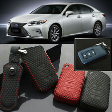 High Quality leather 3 Button Remote Key Case Cover Holder For Lexus ES 13-2014
