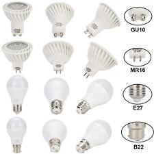 6-30Pcs LED 7W 9W 12W E27 GU10 Golf Ball Globe Lamp Light Bulb Warm Day White