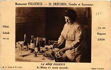 CPA Restaurant Fillioux - D. Frechin - Gendre et Successeur (368123)