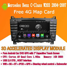 Android Multimedia Player for Mercedes Benz C-Class W203 2004-2007 DVD GPS Navi