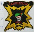 VIETNAM WAR US ARMY SPECIAL FORCES LIGHTNING TEAM CICS GREEN BERET PATCH