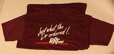 """Vintage Retro Dr. Pepper Advertising """"Just What the Dr. Ordered"""" T Shirt XL NEW"""