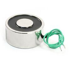 176LB/80kg Lifting Magnet Electromagnet Solenoid Lift Holding 65mm 12V