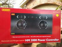 Hornby R8012 H and M twin track analogue DC controller BNIB