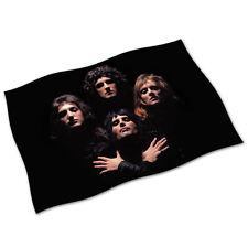 Queen Flag Banner NEW Bohemian Rhapsody We Will Rock You We Are The Champions