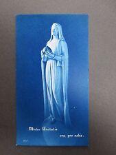 Vintage Religious Holy Card Spanish Statue of Mary Mater Unitatis 1970s Catholic