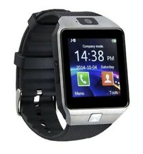 Bluetooth Smart Wrist Watch With Health Monitoring Calls Texts For Android