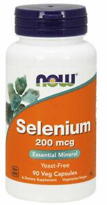 Now Foods - Selenium 200 mcg 90 Veg Capsules