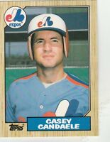 FREE SHIPPING-MINT-1987 (EXPOS) Topps Traded #17T Casey Candaele