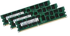 3x 16GB 48GB Samsung DDR3 1333Mhz ECC REG M393B2G70BH0-CH9 Registered Server RAM