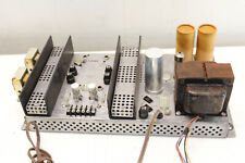 The Fisher 49-A Console Tube Amp Amplifier Stereo El80 12Ax7