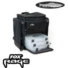 Fox Rage mochila negro con tackleboxen muy cómodo novedad 2019!