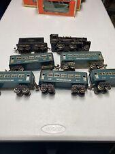 "Vintage Pre War Lionel Trains ""O Gauge"" 258 Engine Runs With 5 Pullman Cars 20"