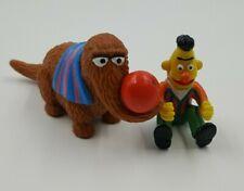 Vintage Applause Sesame Street Muppets 1980' PVC Figures Snuffleupagus Bert