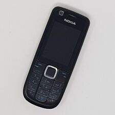 Nokia 3120C-1C - Big Button Mobile Phone - Black - Working Condition - Three