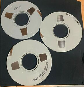 "3 REELS VINTAGE IBM ½"" DATA PROCESSING MAGNETIC TAPE FOR MAINFRAME COMPUTERS"