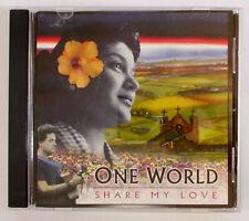 One World: Share My Love CD (RARE Latin Brazilian Jazz OOP Spanish violin piano)