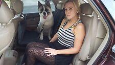 AUDI   PADDED Dog Seat Hammock Cover Car SUV Back Rear Protector Carrier Bridge