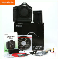 Canon EOS 1D MK III Digital SLR Camera Body,Charger & Battery  Free UK Postage